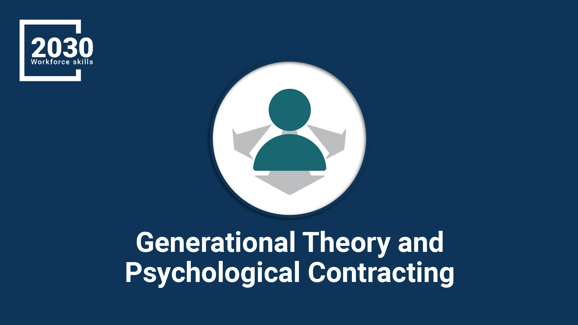 Generational Theory and Psychological Contracting